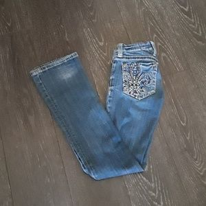 Miss me size 26 bootcut jeans